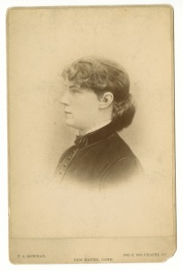Constance Fenimore Woolson. Photo courtesy of The Western Research Historical Society, Cleveland, OH